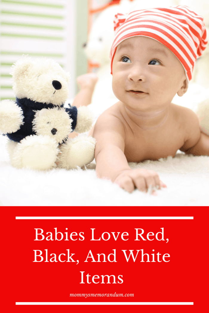 Another great present you can give a baby is a toy or decor that has RBW or red, black, and white colors.