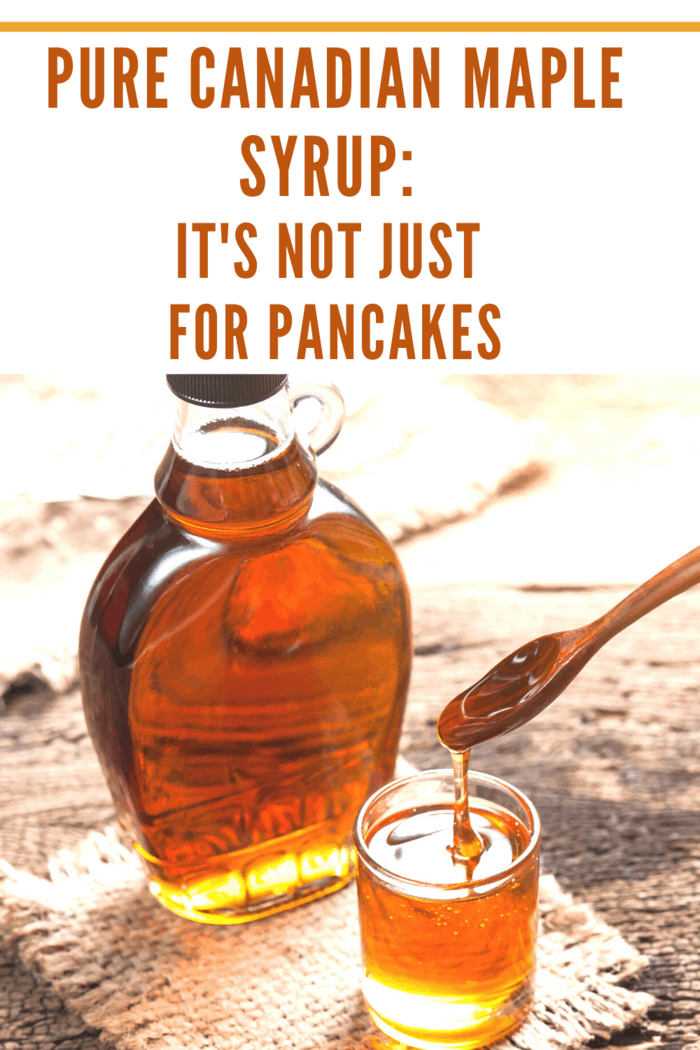 maple syrup isn't just for pancakes