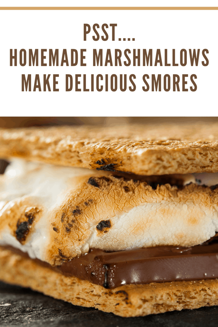 homemade marshmallows taste grate in smores