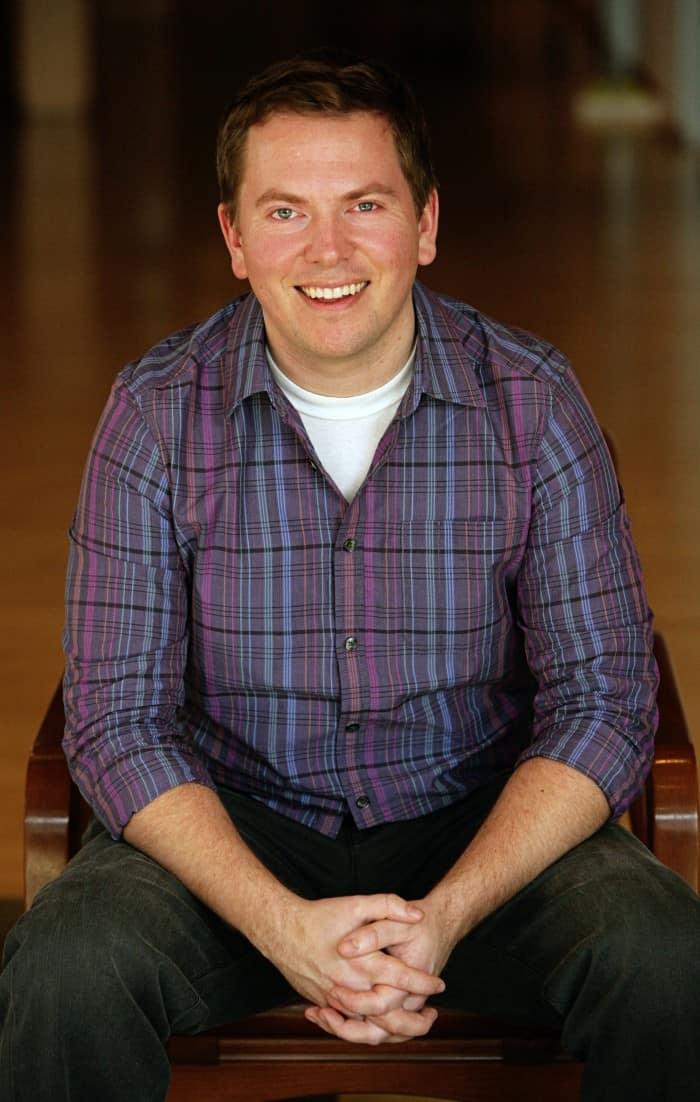 Rob Thompson has his photograph taken on February 16, 2010 at Pixar Animation Studios in Emeryville, Calif. (Photo by Deborah Coleman / Pixar)