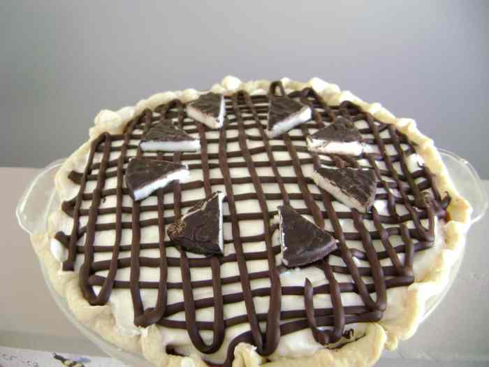 Inside Out Peppermint Patty Pie