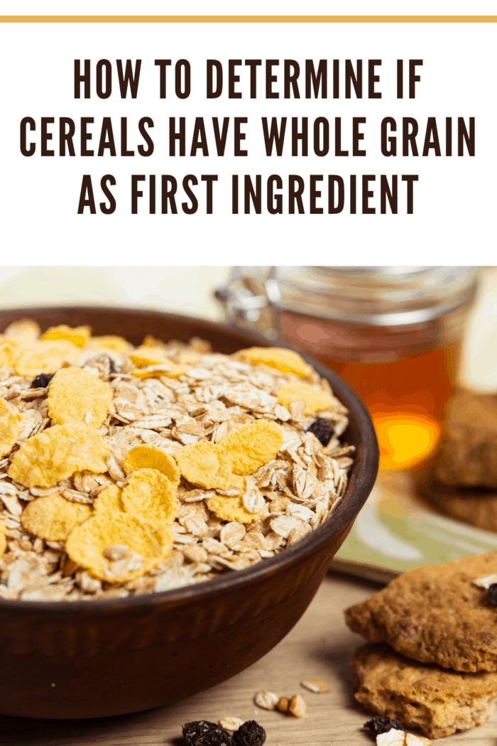 We know whole grain is important to you, and the Dietary Guidelines recommend choosing products with a whole grain listed as the first ingredient.