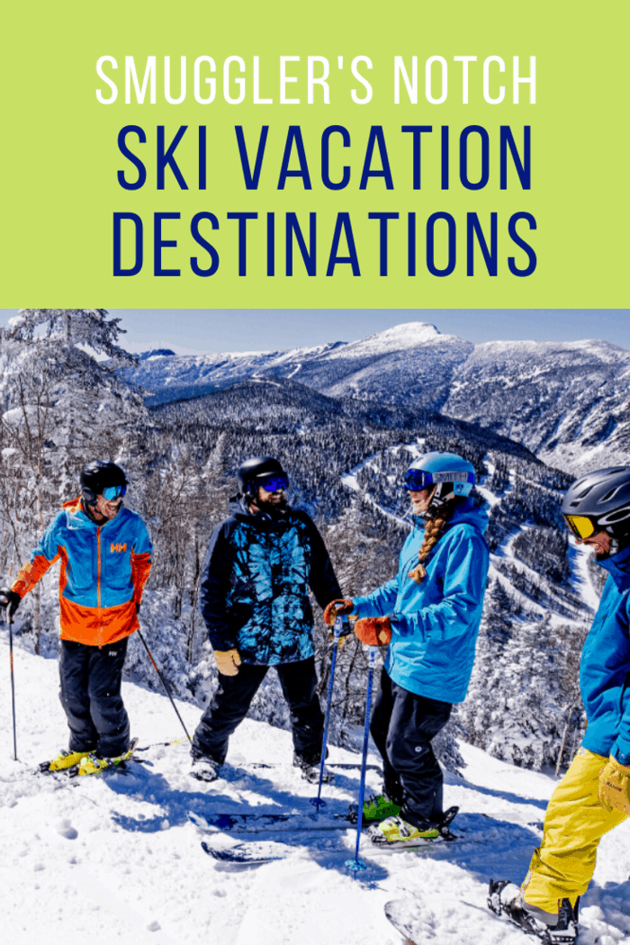 If you're planning a trip for the entire family to enjoy, Smuggler's Notch is a high contender.