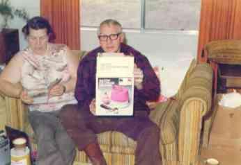 Grandma and Grandpa in the late 1970s