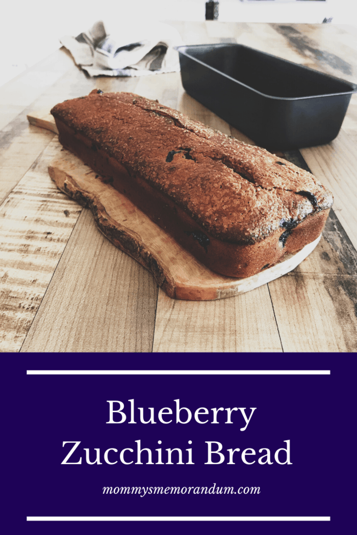 the best blueberry zucchini bread