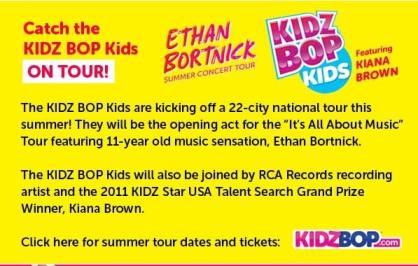 kidz bop on tour