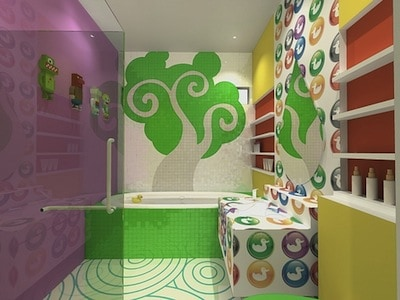 Kid friendly bathroom design ideas for Family friendly bathroom design ideas