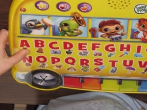 Leap Frog Magic Touch Alphabet