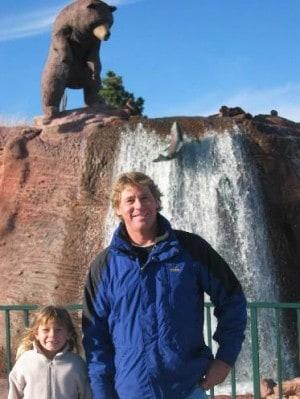 Steve Irwin at Bear Country USA