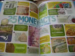 Inside the pages of National Geographic Kids: 5,000 Awesome Facts