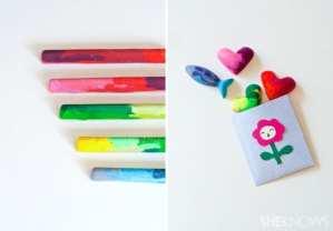 Fun DIY: Old Crayons, New Craft #tutorial