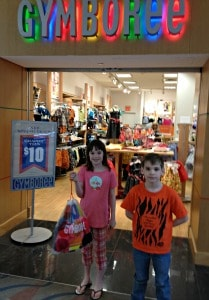 shopping Gymboree