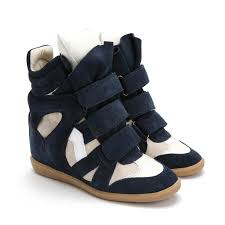 upere wedge sneaker