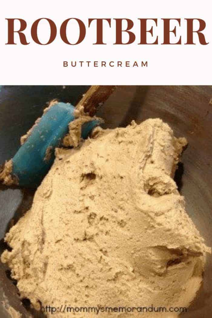 Root Beer Buttercream Icing Recipe