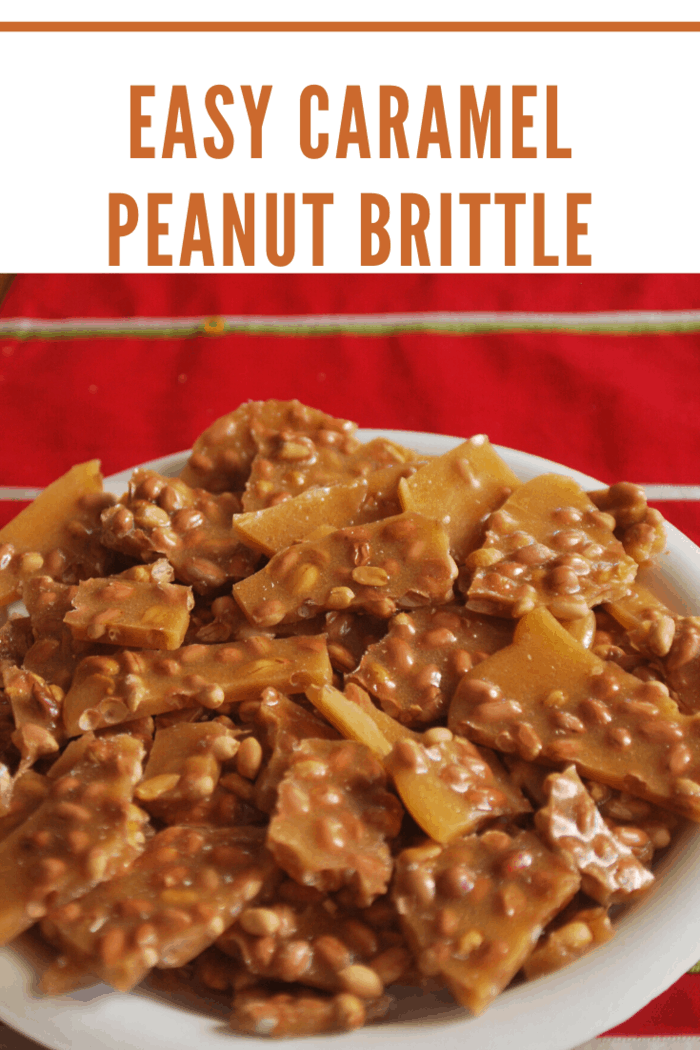 We think you'll agree, this recipe is easy and it's delicious...and really, isn't that all we need in Peanut Brittle?!