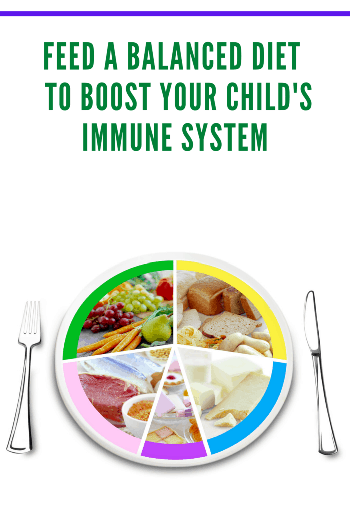 if you want kids to have robust immune systems, making sure that they're getting plenty of colorful fruits and vegetables is a good bet.