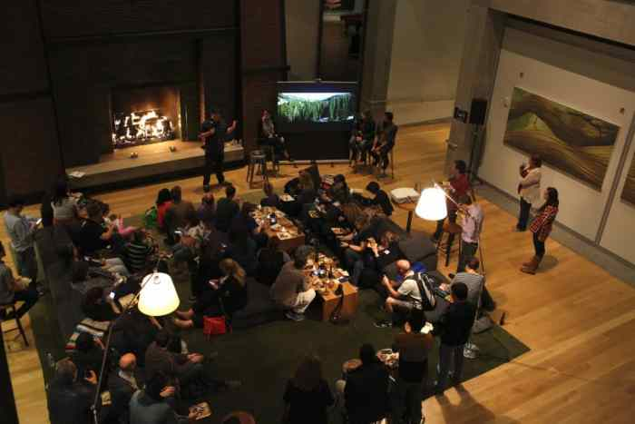 A press day for The Good Dinosaur, including a slideshow of research trip photos with Director Peter Sohn, Producer Denise Ream, Director of Photography - Lighting Sharon Calahan and Supervising Technical Director Sanjay Bakshi, as seen on September 30, 2015 at Pixar Animation Studios in Emeryville, Calif. (Photo by Deborah Coleman / Pixar)
