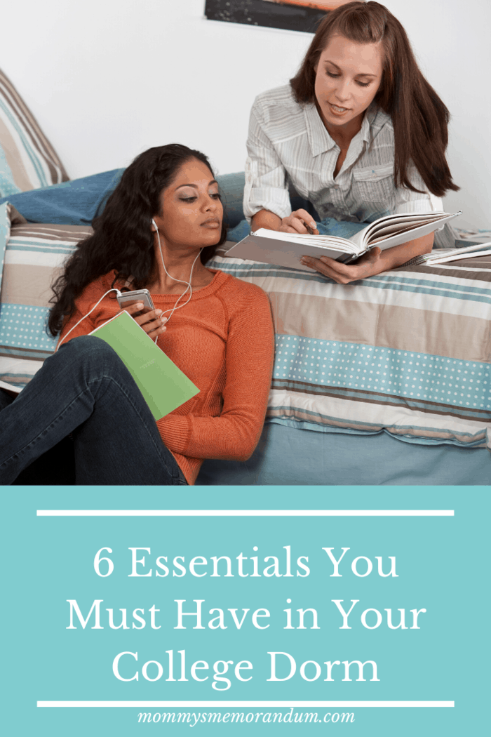 6 Essentials You Must Have in Your College Dorm