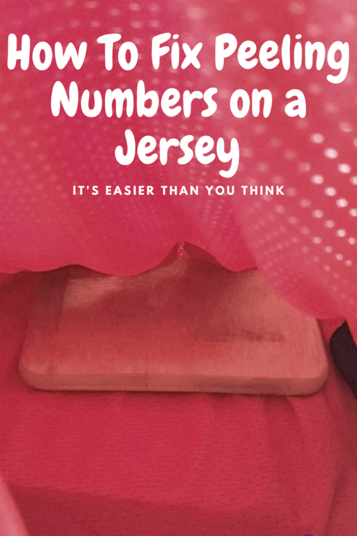 Cardboard between the inside and outside of the jersey.