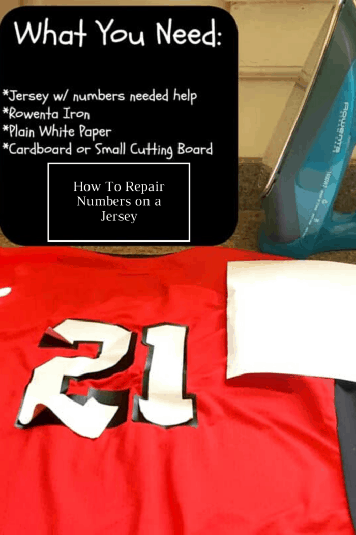 How to Fix Numbers Peeling Off A Jersey The Easy Solution