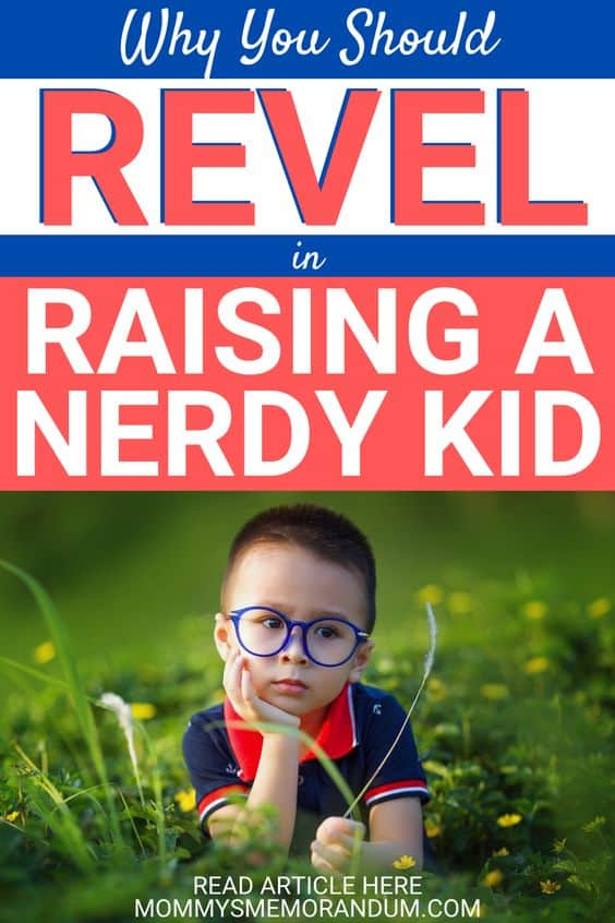 Here's why you should revel in raising a nerdy kid.
