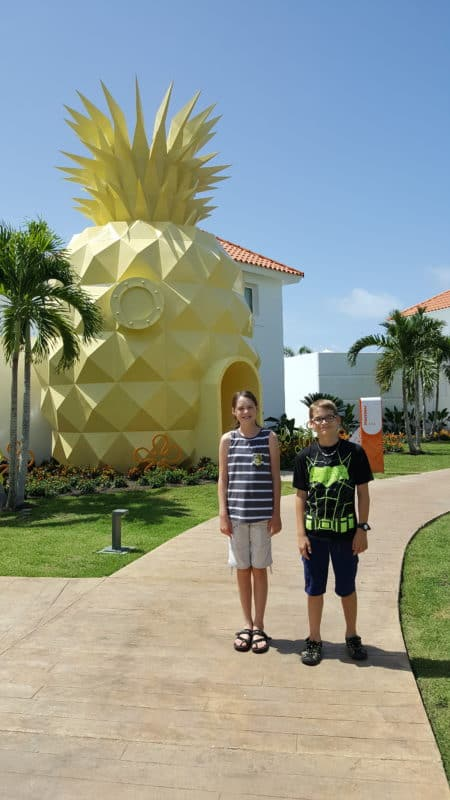 sponge bob's pineapple house punta cana hotel and resorts