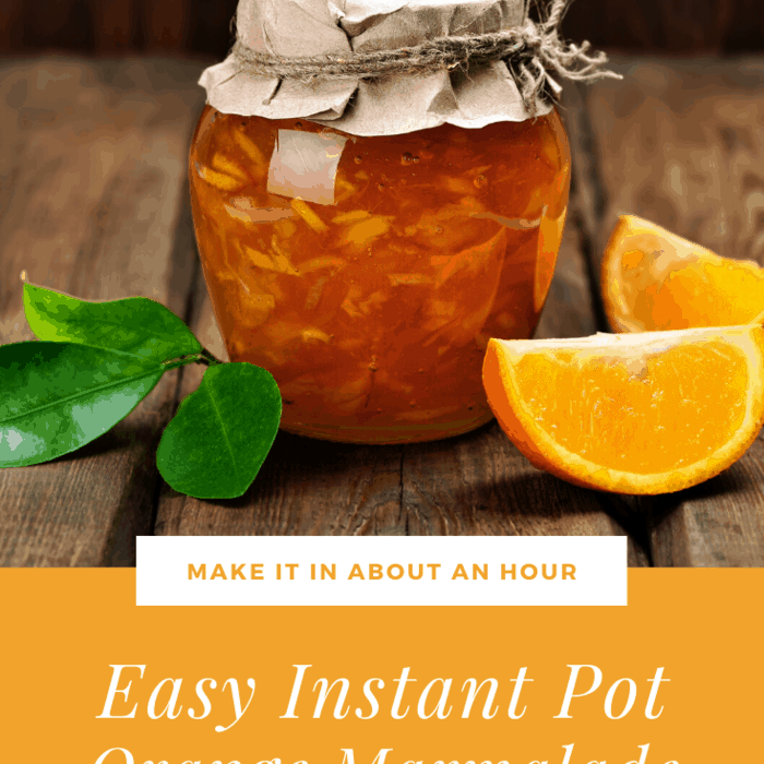 Instant Pot Orange Marmalade Recipe in About an Hour!