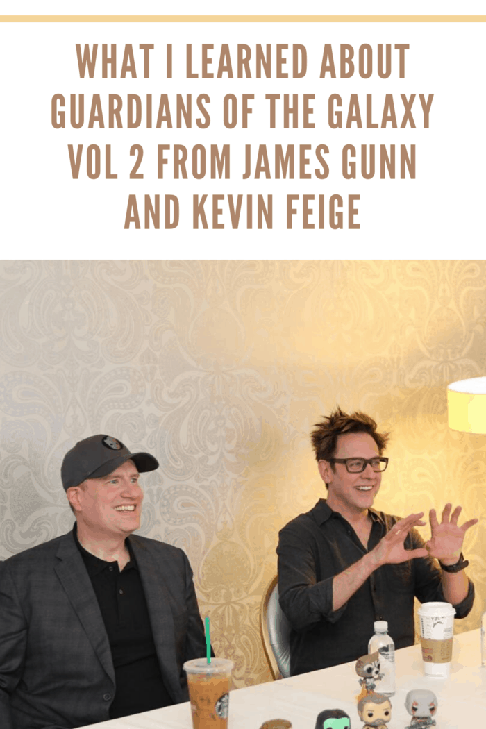 Kevin Fiege and James Gunn talk about the music in Guardians of the Galaxy Vol. 2