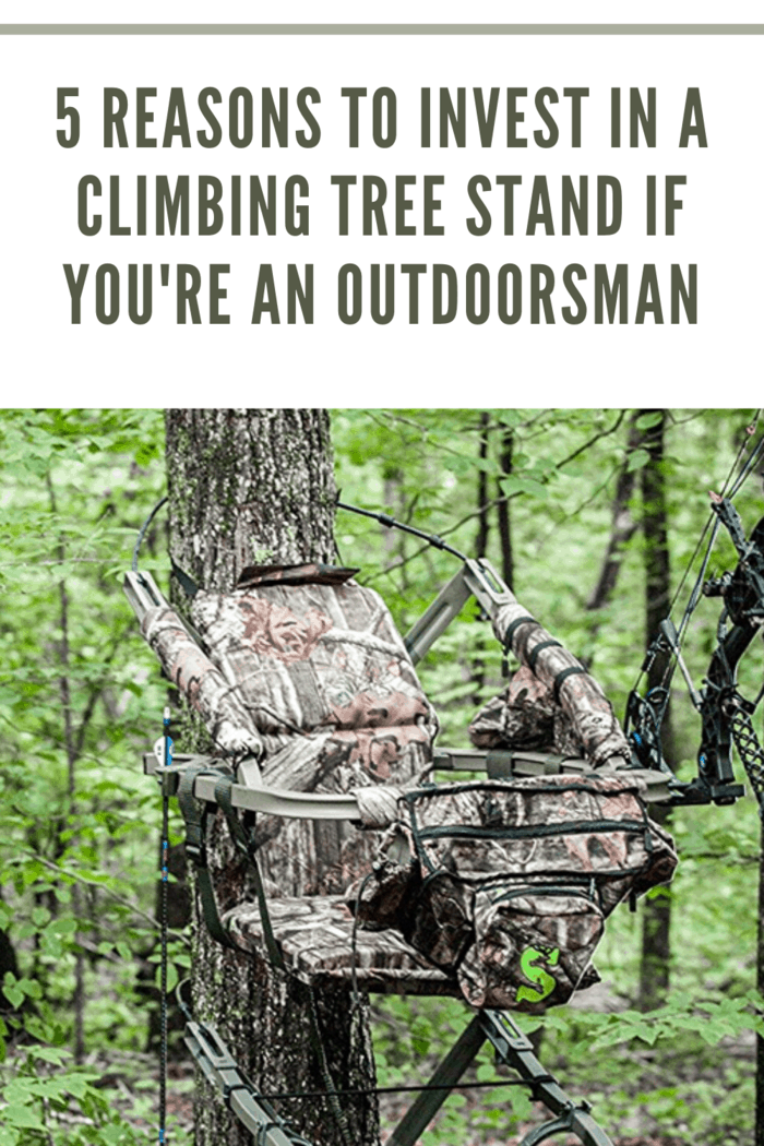 tree stand in tree waiting for hunter