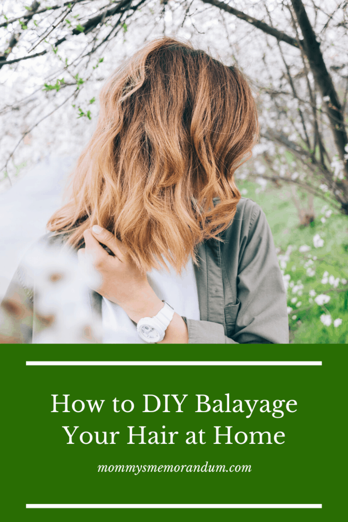 It's a good thing that balayage is now a popular hair trend because it's easy to do yourself, and it's a much healthier option for highlighting.