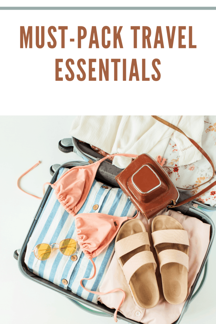 Traveling in style implies getting all your necessities, like these 10 essential items every travel should have for maximum comfort on your vacation.