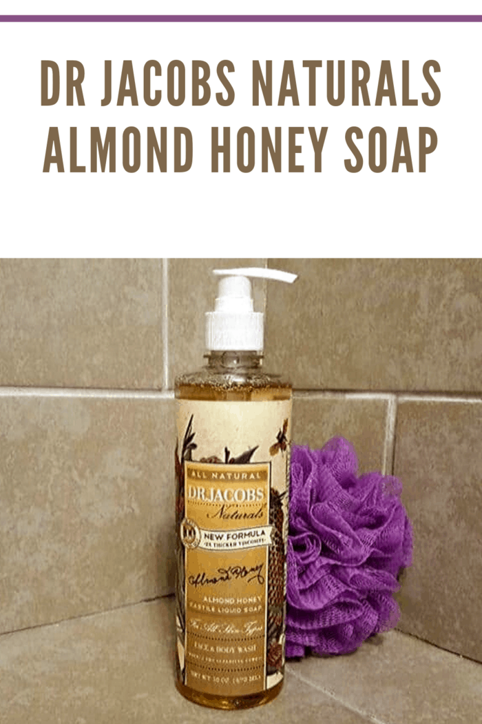 Dr. Jacobs Naturals Face and Body Wash Almond Honeyis a gentle blend of almond and honey.