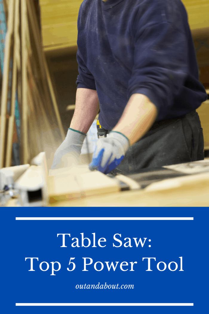 The table saw is easily the most expensive power tool on this list, but it is no place to compromise.