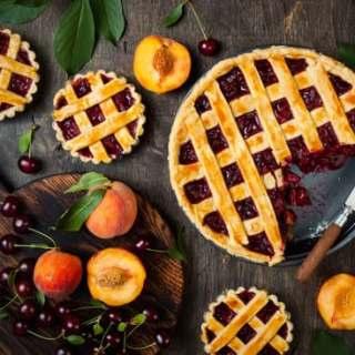 cherry peach pie