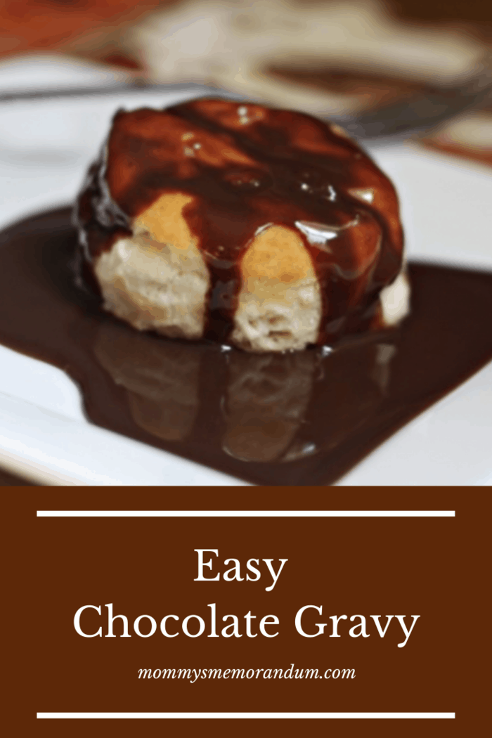 This easy recipe for Chocolate Gravy is a rich, delicious chocolate gravy.