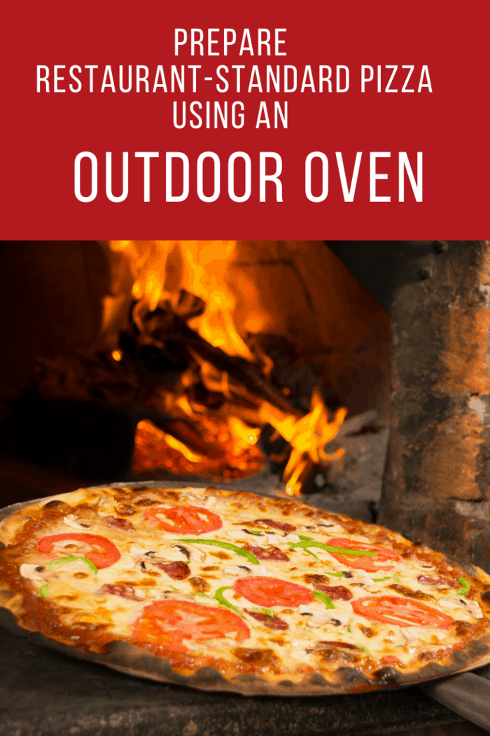 As you are buying an outdoor pizza oven, you have to measure the available space.