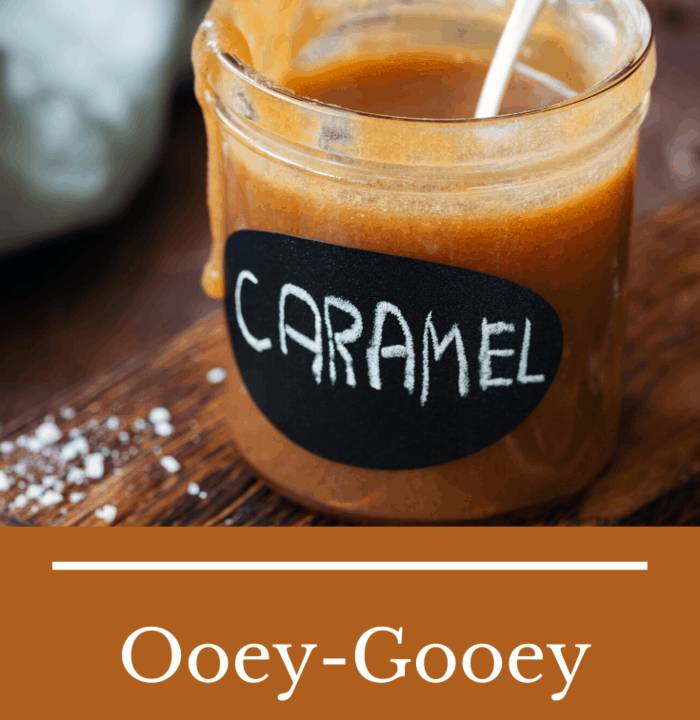 The EASY Homemade Caramel Sauce recipe using just a few ingredients that combine in one pot.