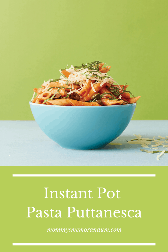 This Instant Pot Pasta Puttanesca couldn't be simpler in the Instant Pot--just add the ingredients and come back to a pastadinner!