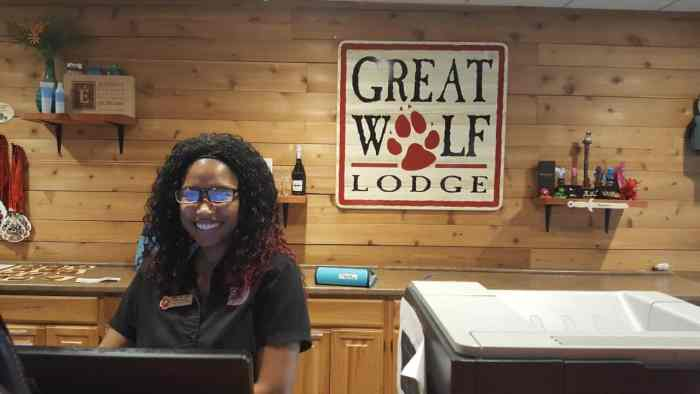 checking in to great wolf lodge williamsburg
