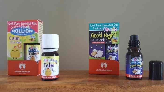 Gurunanda essential oils for kids
