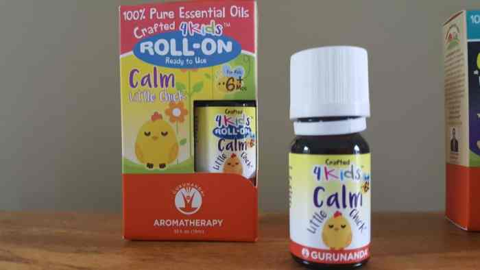 Gurunanda 4kids Essential Oil Collection To Help Kids Rest