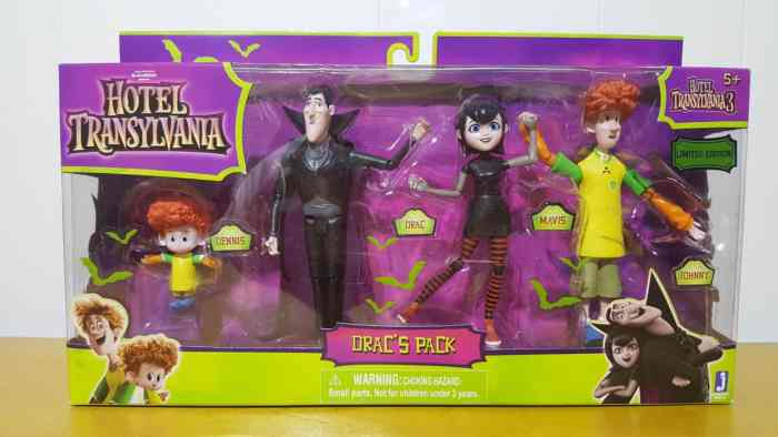 Hotel Transylvania Drac's Pack Mini Figures