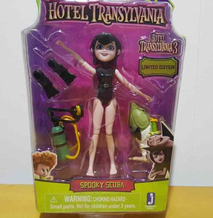 spooky scuba mavis from hotel transylvania 3