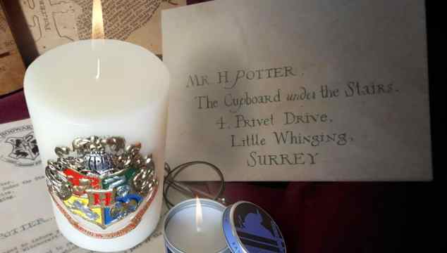 Harry Potter Candles and PopCraft Cards for the Potterhead on Your Gift List