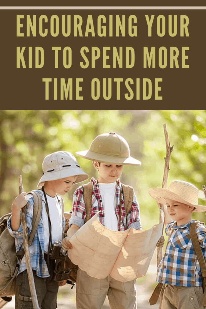 We thought of some suggestions on how to encourage your kids to spend more time outside and what activities should they have so they can get the best out of the whole experience.