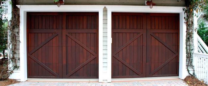 any good building needs garage doors
