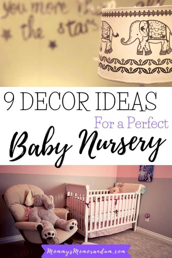 9 unbeatable décor ideas to transform a regular bedroom into the perfect baby nursery.