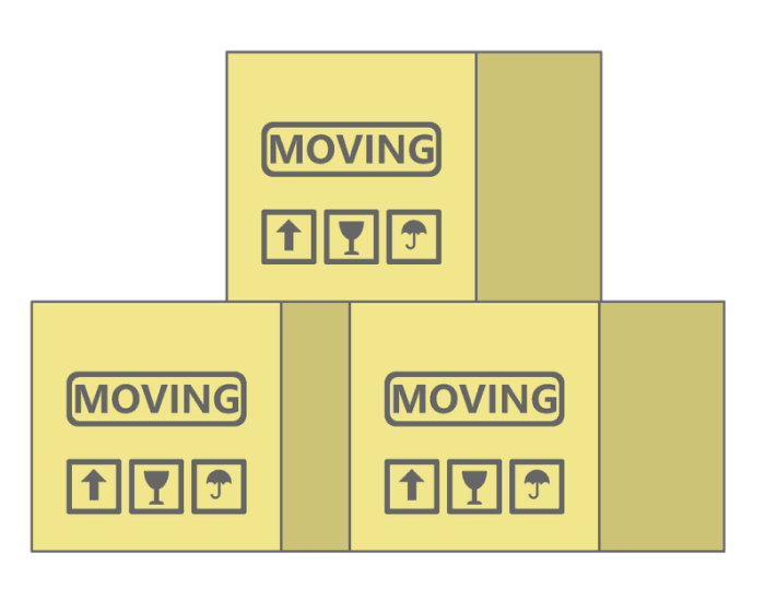 Exploring Cheapest Moving Options In Sacramento moving boxes clipart