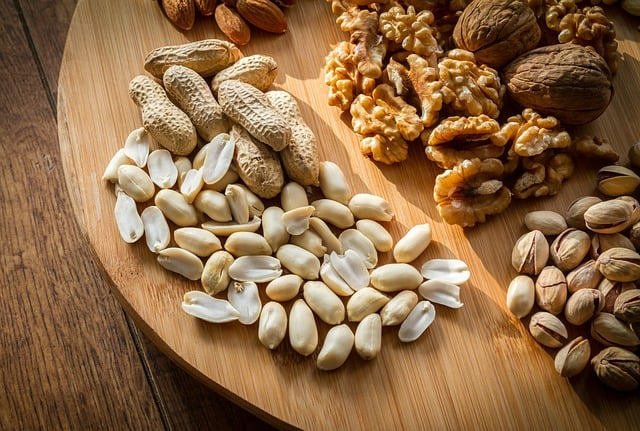 nuts-8 Foods To Eat If You Have Gum Disease