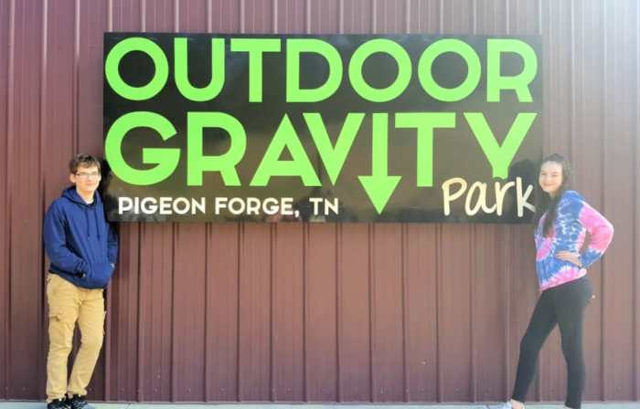 outdoor gravity park pigeon forge
